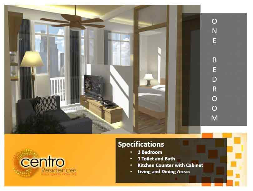 Centro Residences - One Bedroom Interior