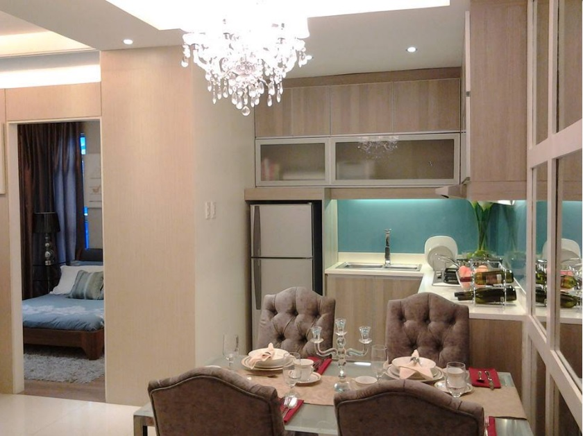 Centro Residences - Dining Area and Bedroom