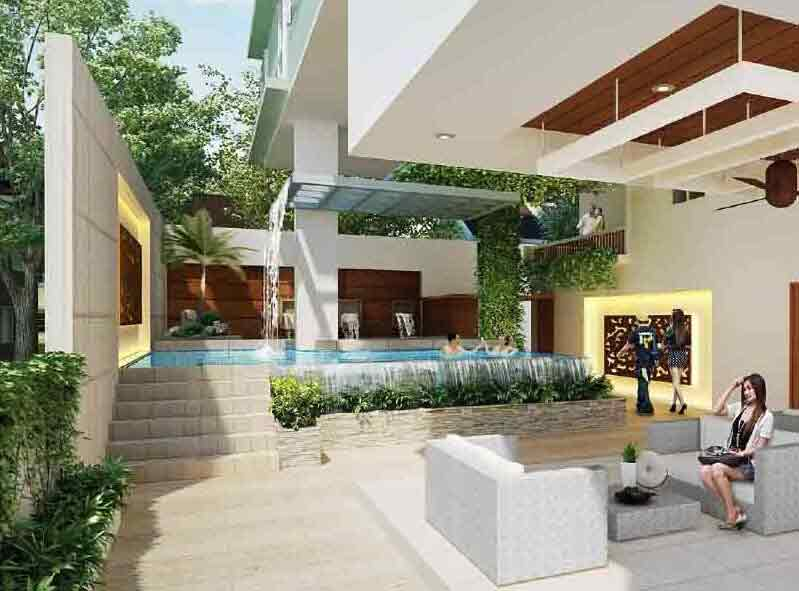 Centro Residences - Amenity Perspective Area