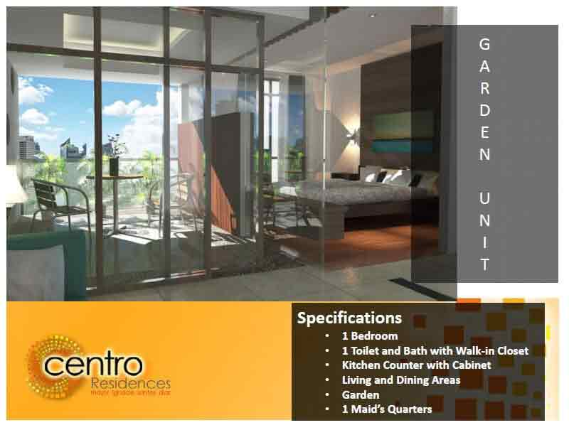 Centro Residences - Garden Unit Interior