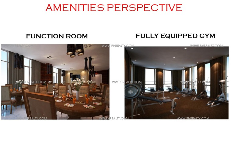 West Avenue Residences - Amenities Perspective