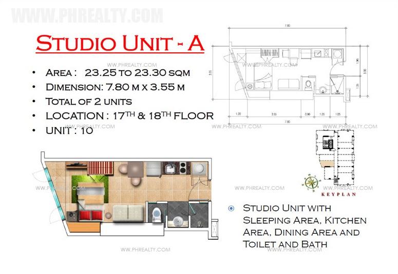 West Avenue Residences - Studio Unit A