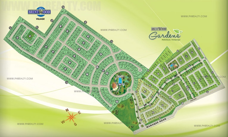 Brentwood Gardens - Site Development Map