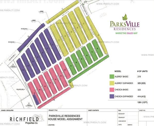 Parksville Residences At Parc Royal - Site Development Plan