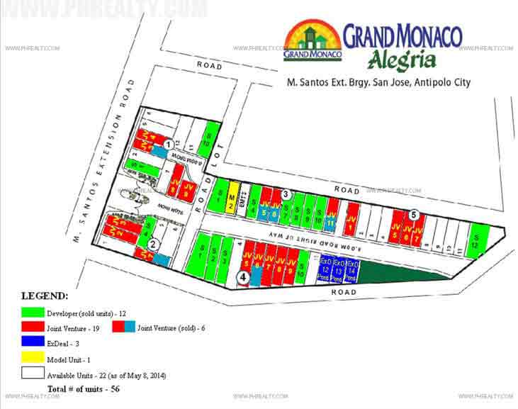 Alegria - Site Development Plan