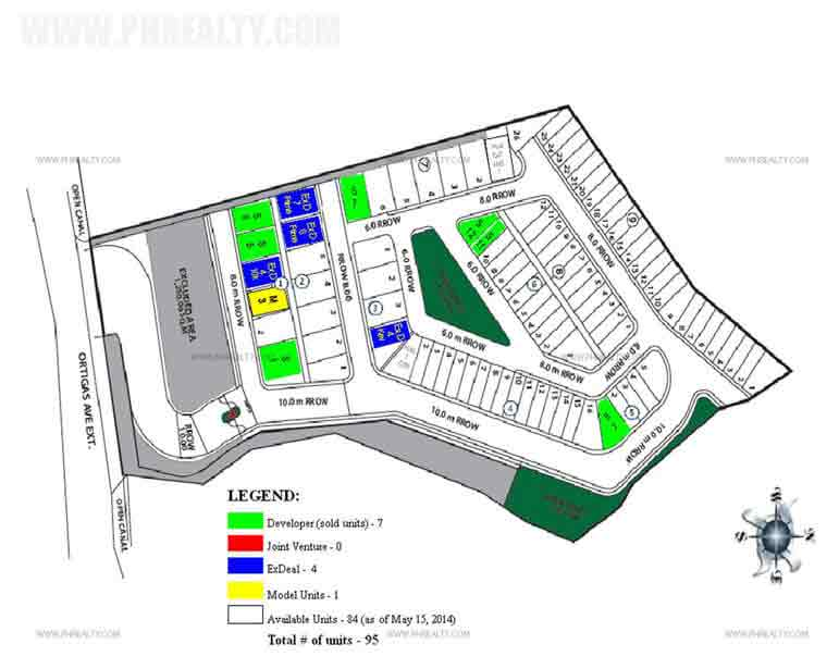 Hills Taytay - Site Development Plan