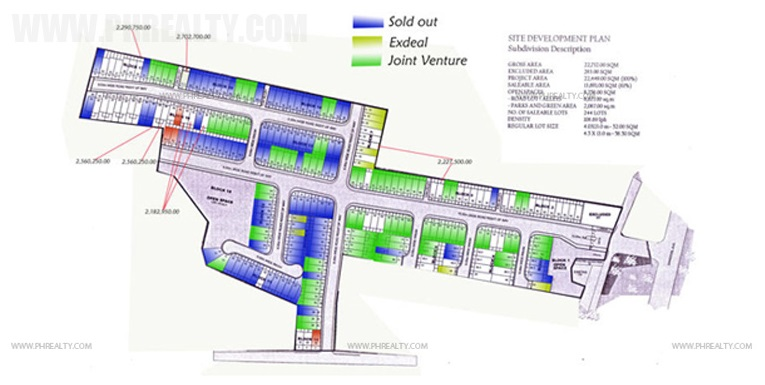 Grand Monaco La Potenza - Site Development Plan