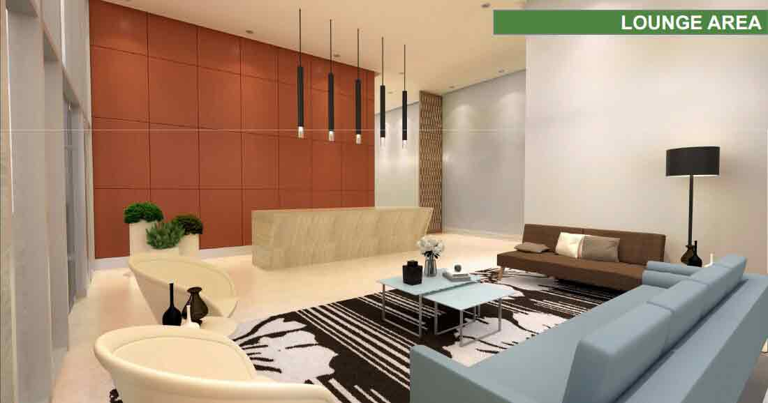 One Lakeshore Drive - Lounge Area