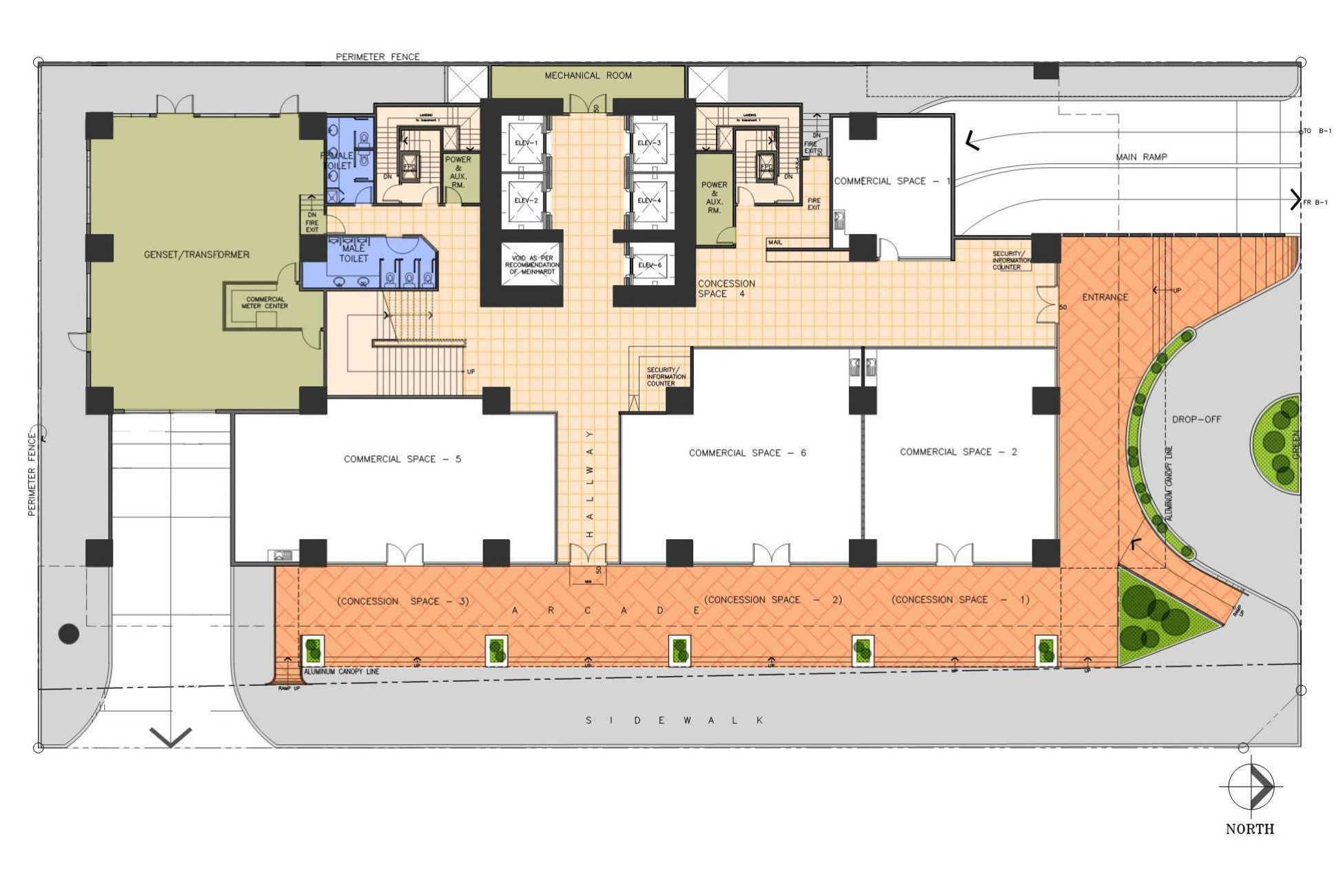 AMA Tower Residences - Ground Floor