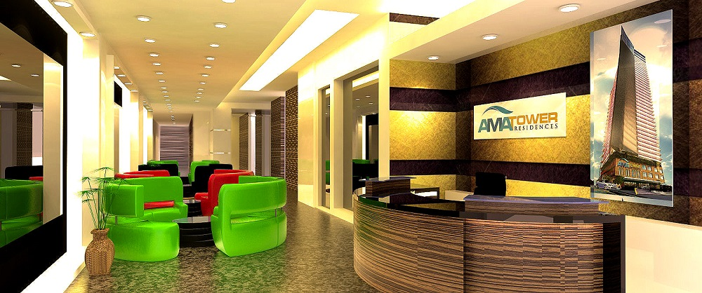 AMA Tower Residences - Lobby