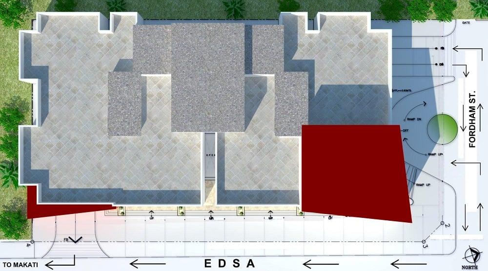 AMA Tower Residences - Site Development Plan
