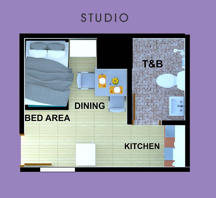AMA Tower Residences - Studio