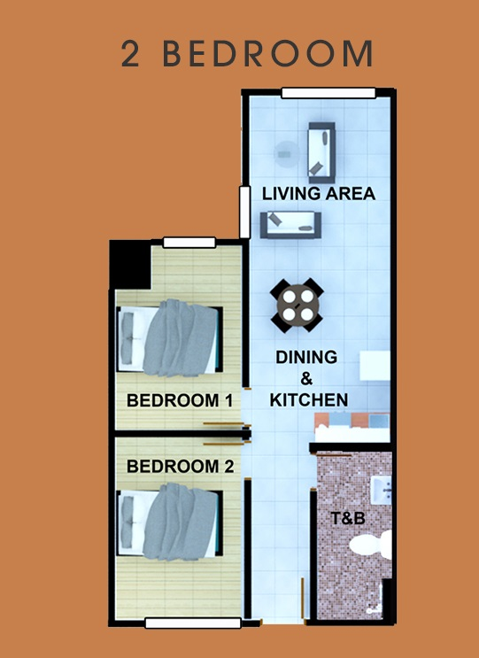AMA Tower Residences - 1 Bedroom