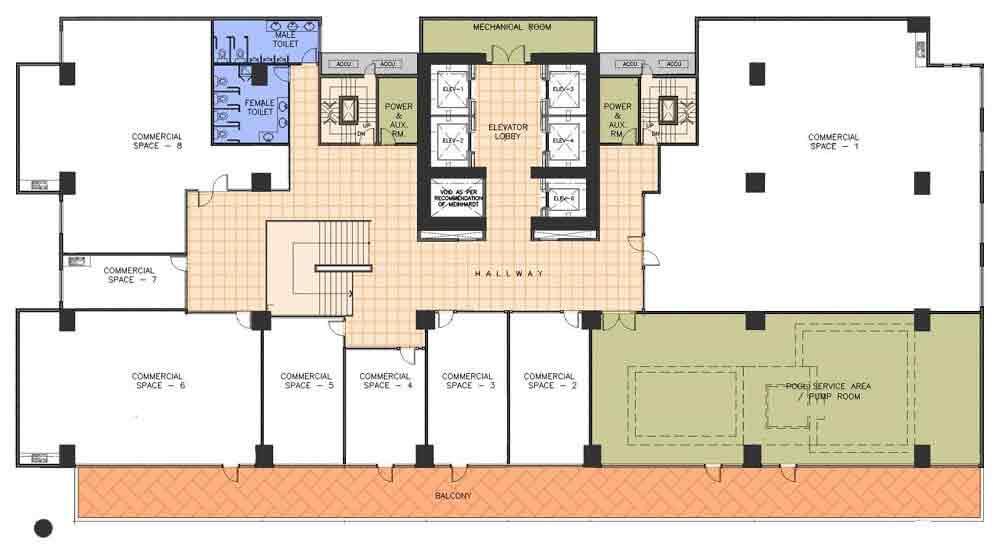 AMA Tower Residences - 3rd Floor