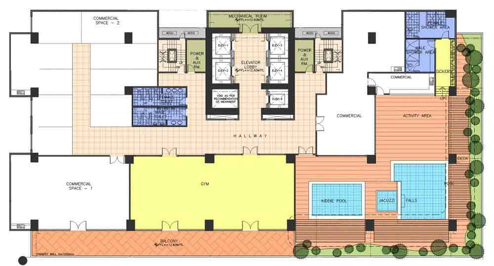 AMA Tower Residences - 4th Floor