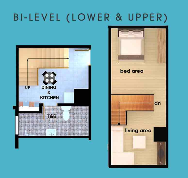 AMA Tower Residences - Bi-Level (Lower & Upper)