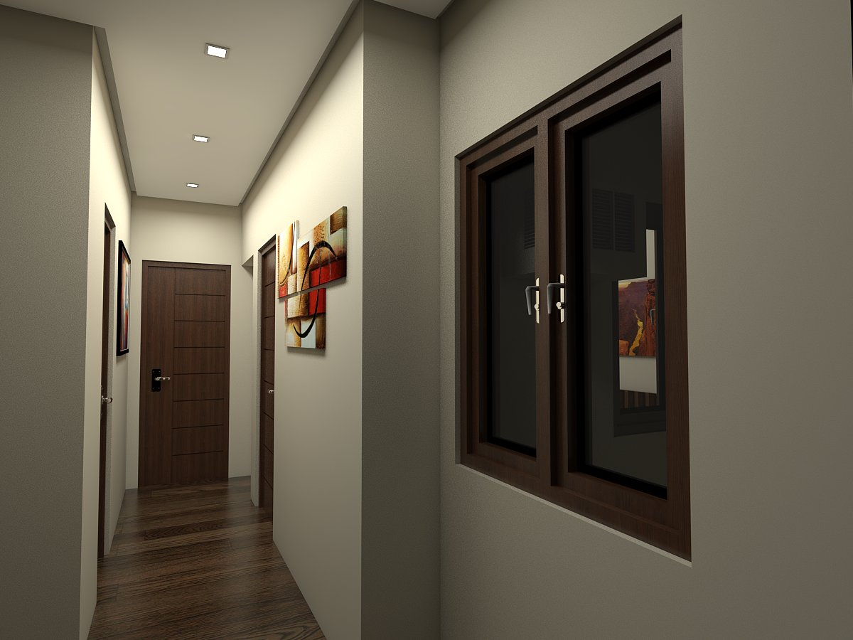 Verdant Teoville - Hallway