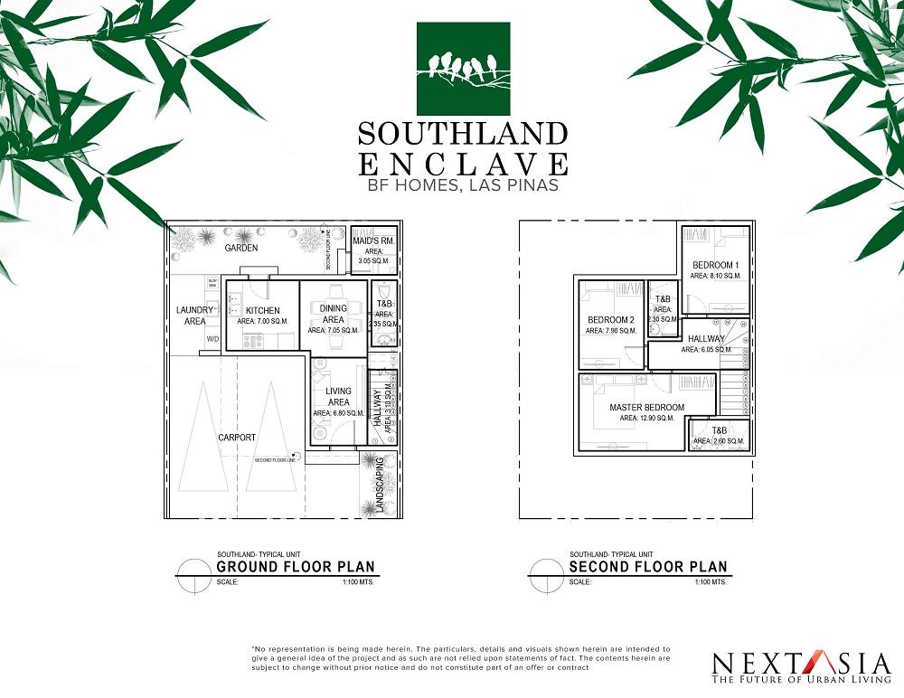 Southland Enclave - Floor Plan
