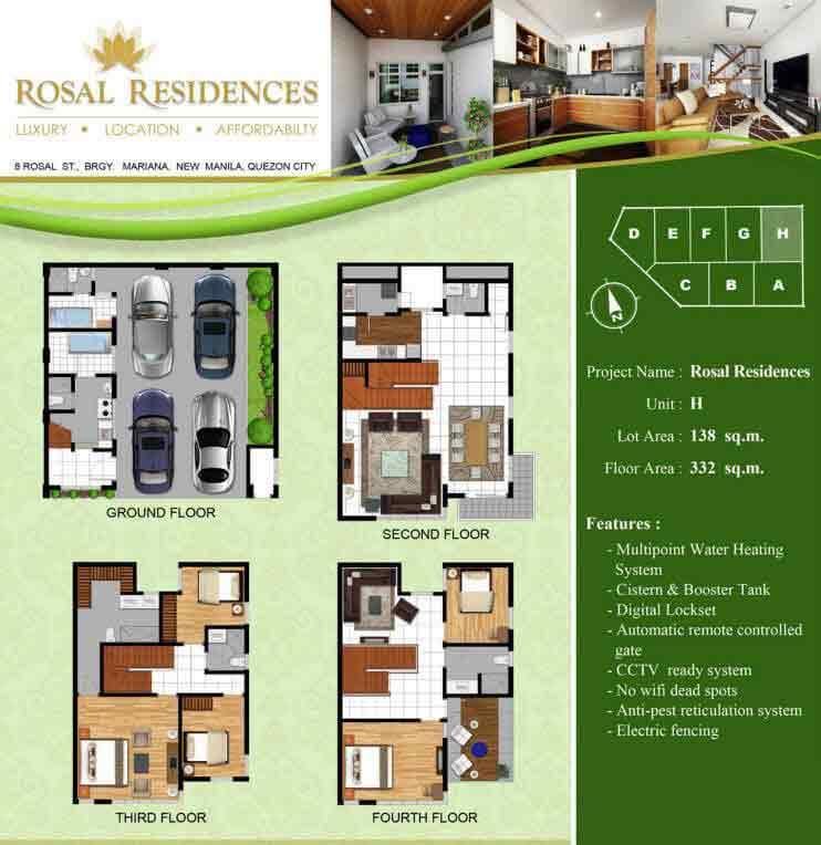 Rosal Residences - Unit H