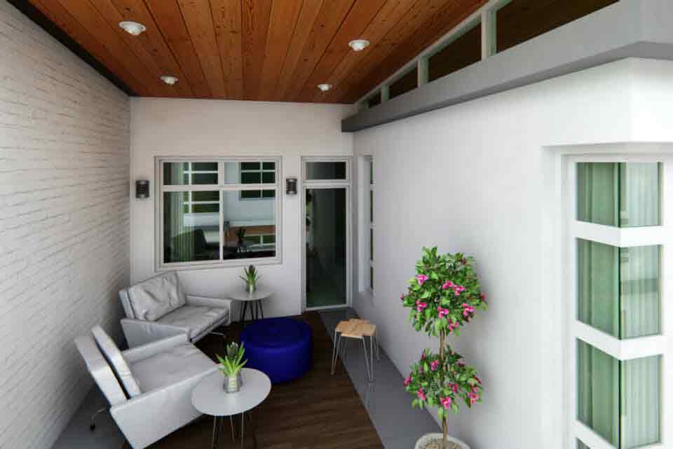 Rosal Residences - Outdoor Living Area
