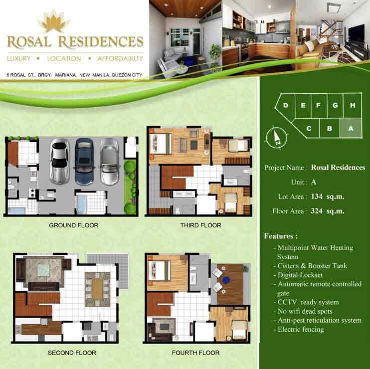 Rosal Residences - Unit A