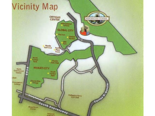 Ridgewood Towers - Location & Vicinity