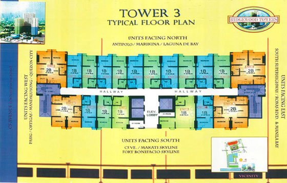 The Residences At The Westin - Typical Floor Plan