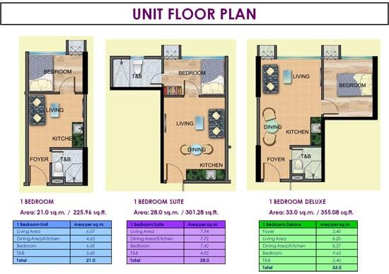 Ridgewood Towers - Unit Floor Plan