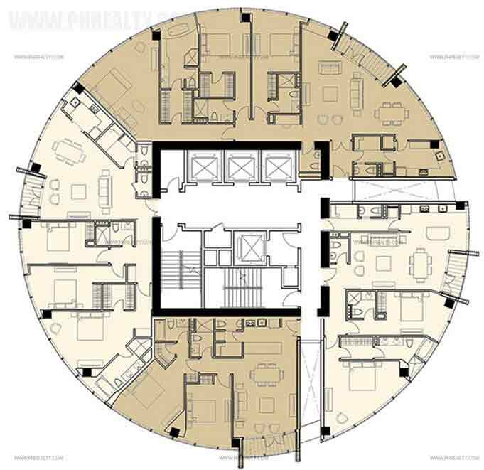 The Olive Place - Typical Floor Plan