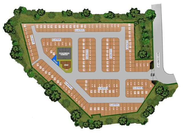 Alsea Townhouse - Site Development Plan