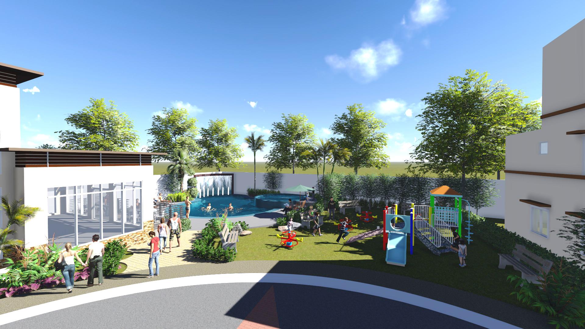 Avillon Garden - Playground