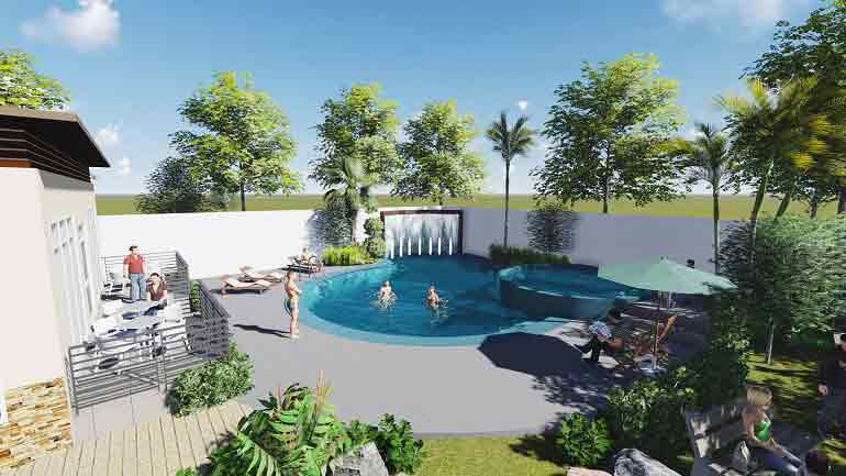 Avillon Garden - Swimming Pool (Kiddie & Adukt)
