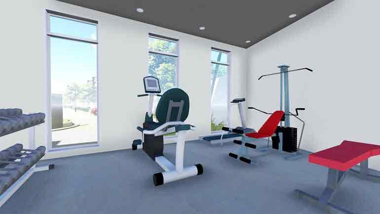 Avillon Garden - Gym