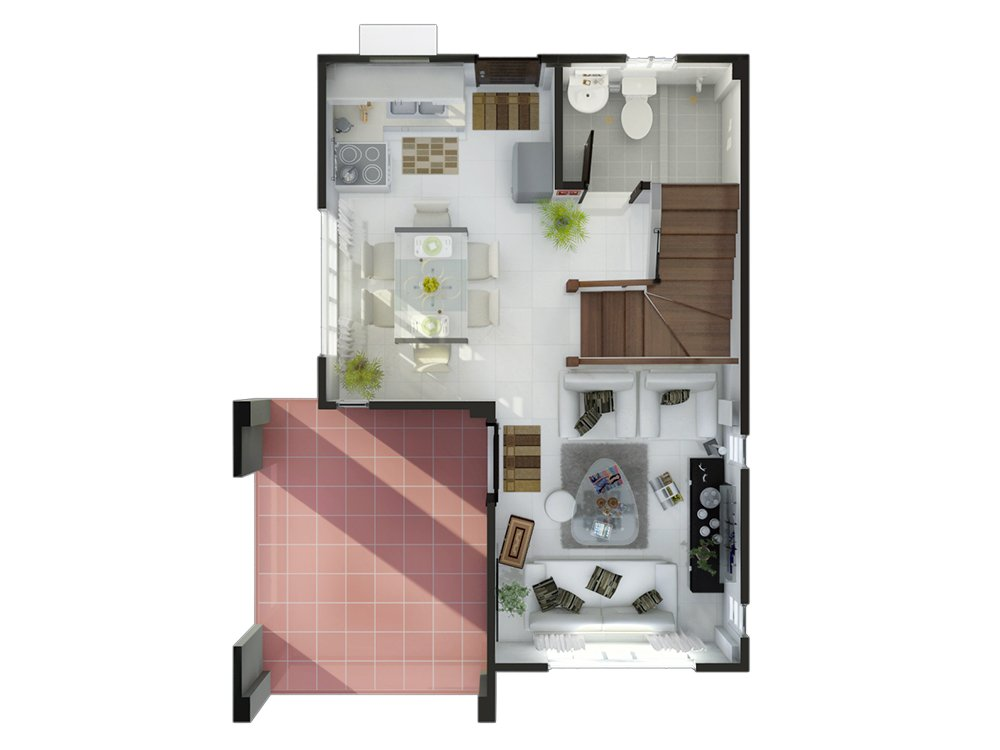 Dream Crest Homes - Floor Plan
