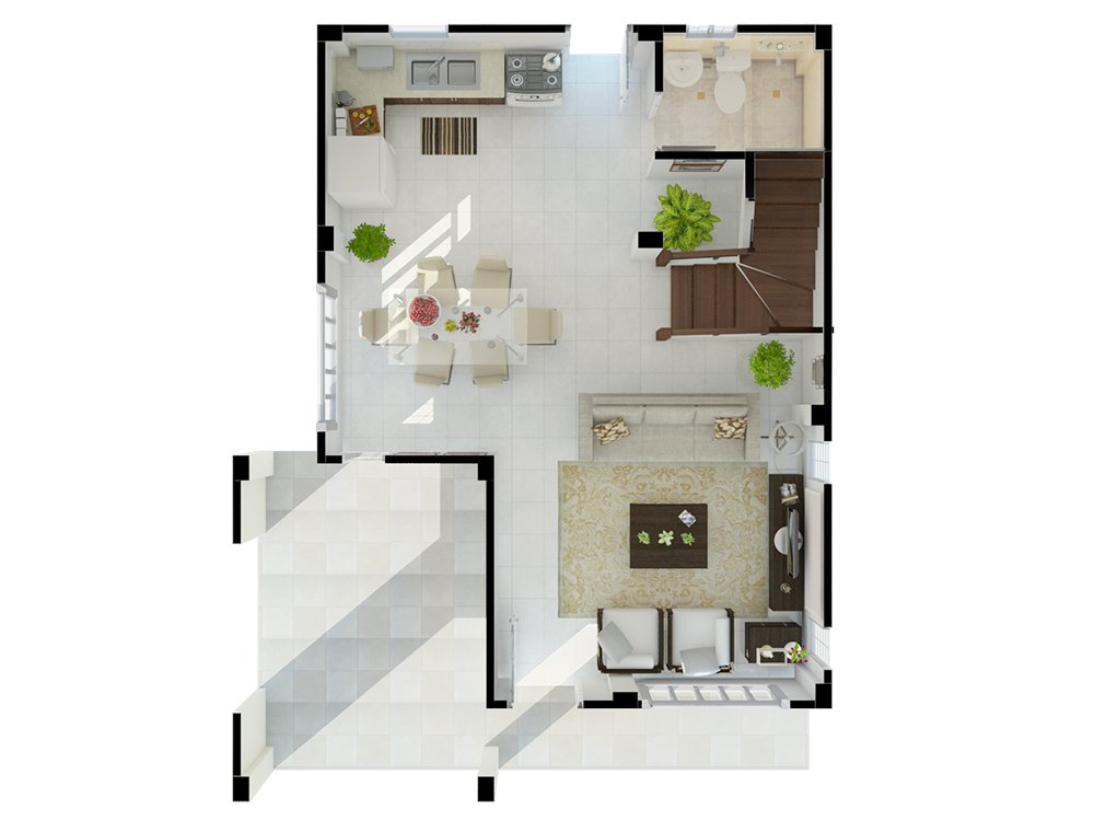 The Meadows - Floor Plan