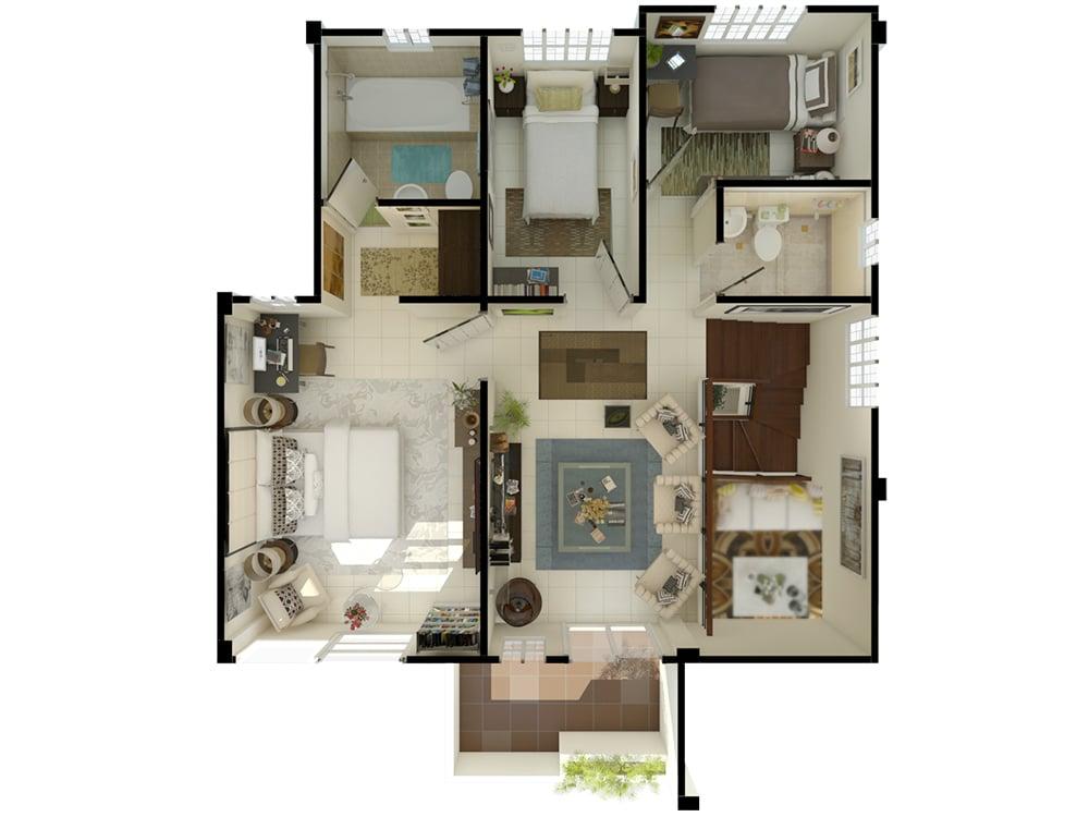 The Meadows - Floor Plan