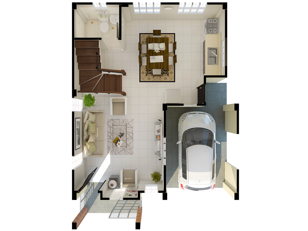 The Meadows - Ground Floor Plan