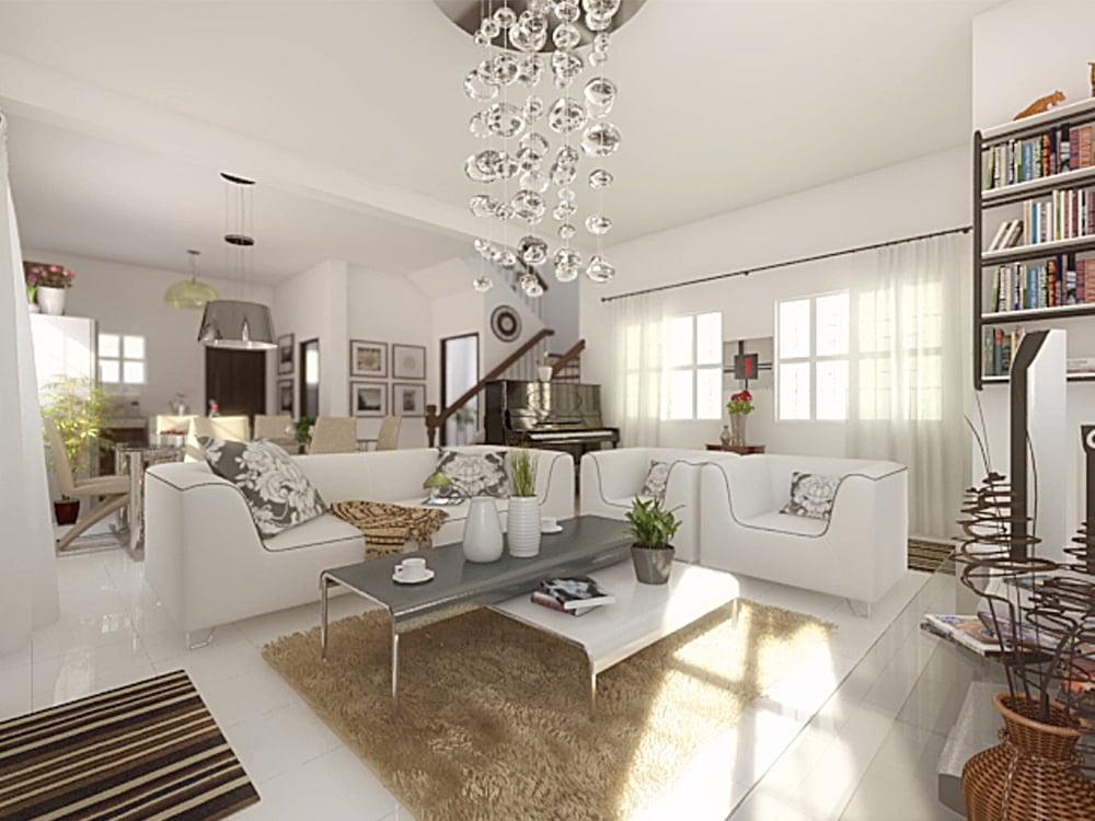 Casa Buena De Pulilan - Living Area