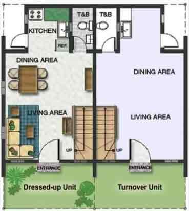 The Village At Treelane - Ground Floor Plan