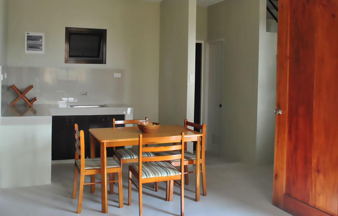 Holiday Homes - Kitchen with Dinning Area