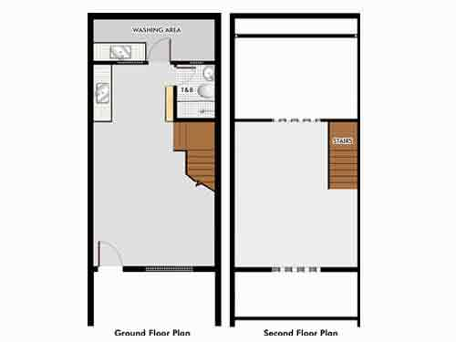 Holiday Homes - Georgia Floor Plan