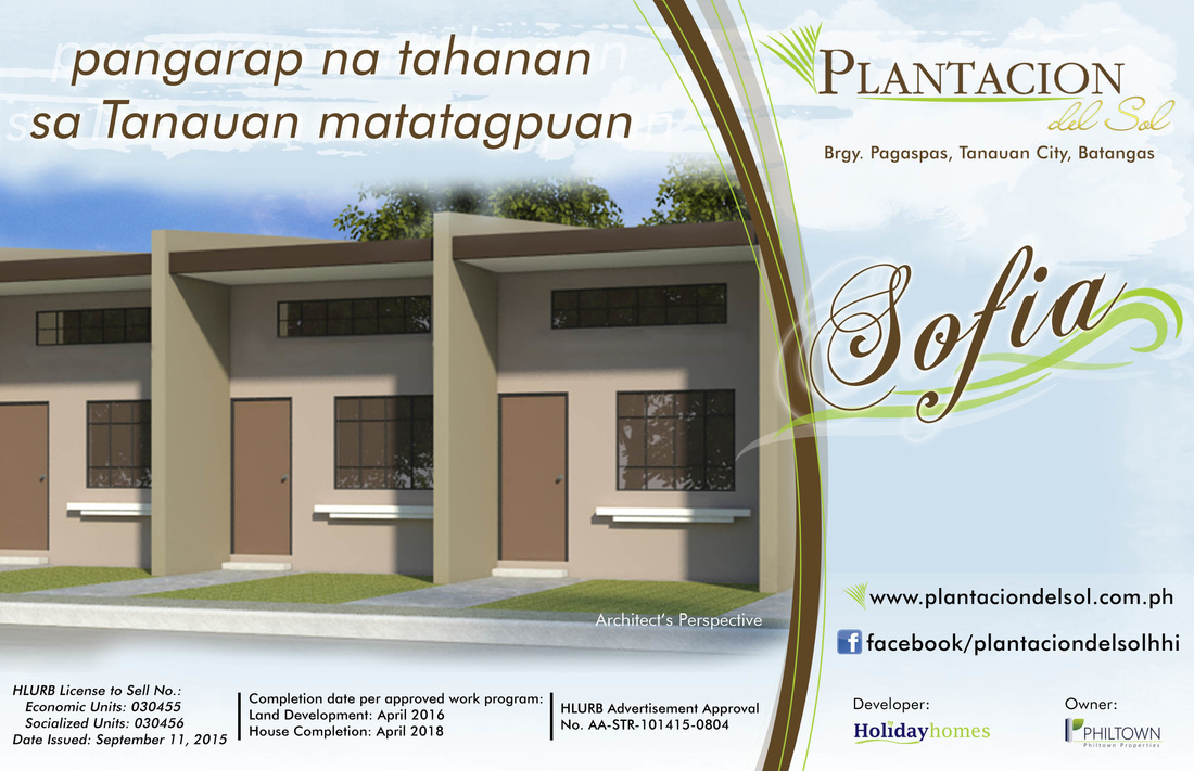 Plantacion Del Sol House Lot In Pagaspas Tanauan