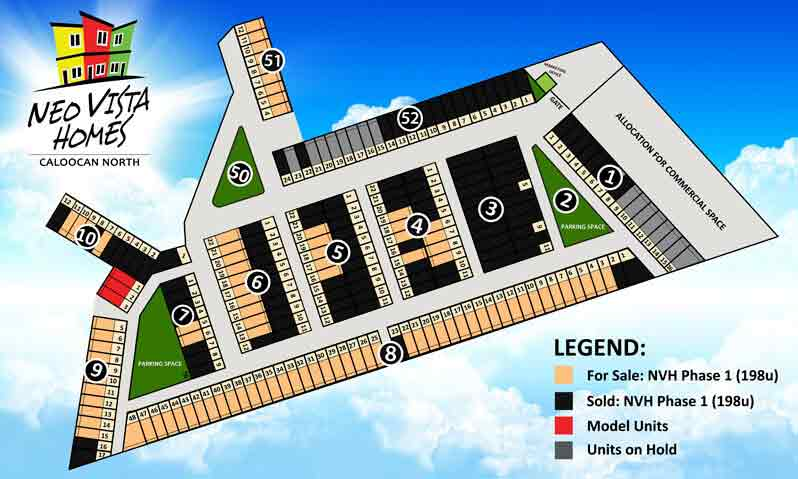 Neo Vista Homes - Site Development Plan