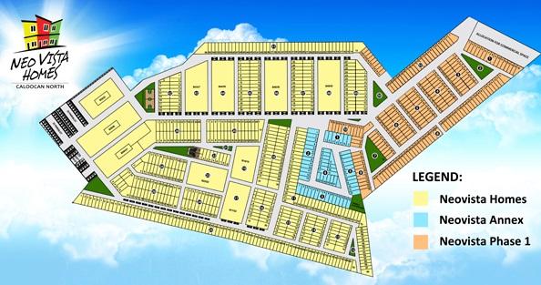 Neo Vista Homes - Subdivision Map