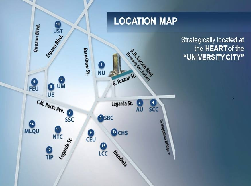 Forbes Hall - Location & Vicinity