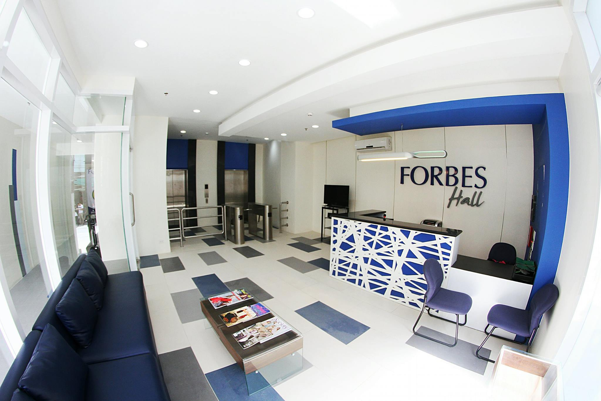 Forbes Hall - Reception Area