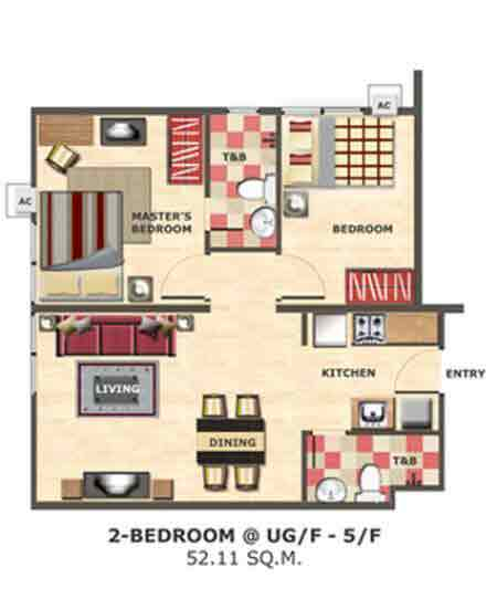 Centropolis Communities - 2 Bedroom Unit