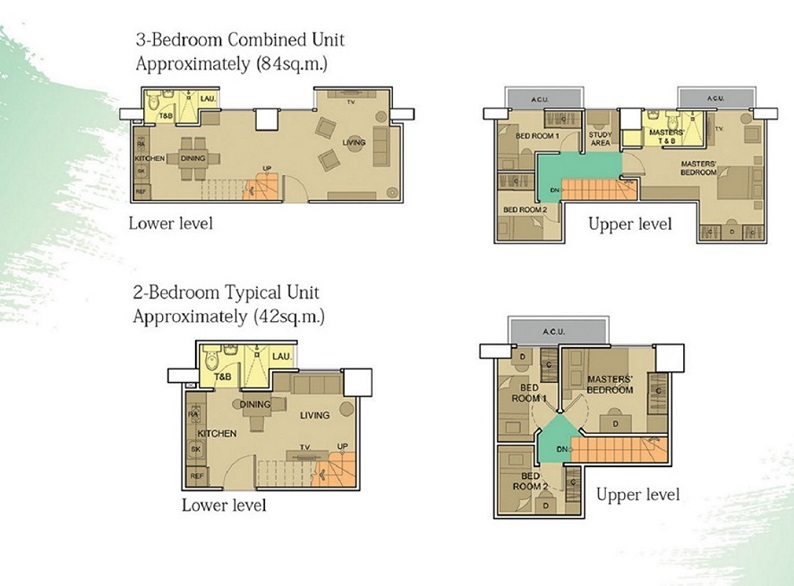 Victoria De Makati - Unit Floor Plan
