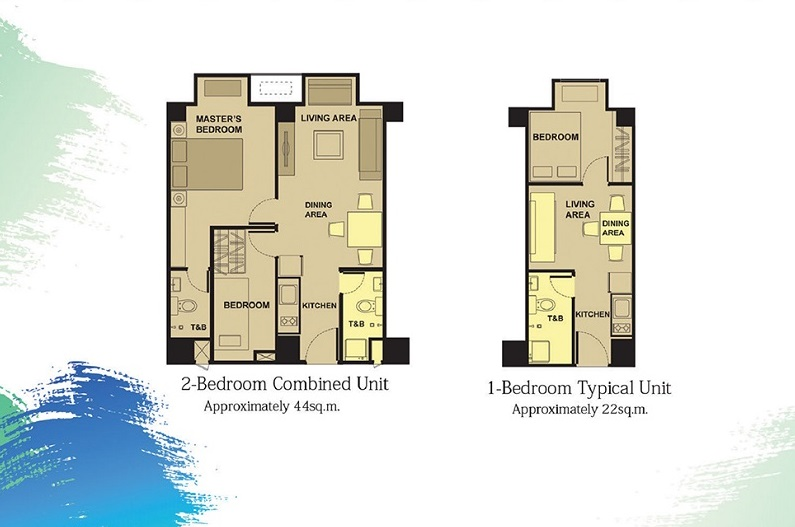 Victoria De Manila - Unit Floor Plan