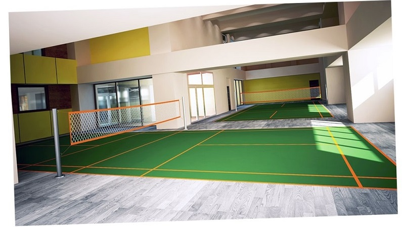 Victoria De Manila - Badminton court
